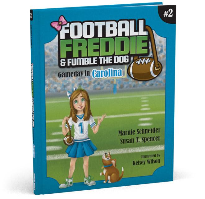 Football Freddie Book 2 Cover