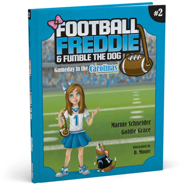 Football Freddie Book 2 Cover