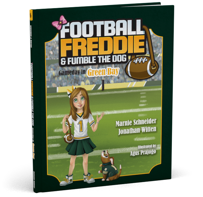 Football Freddie Green Bay Cover