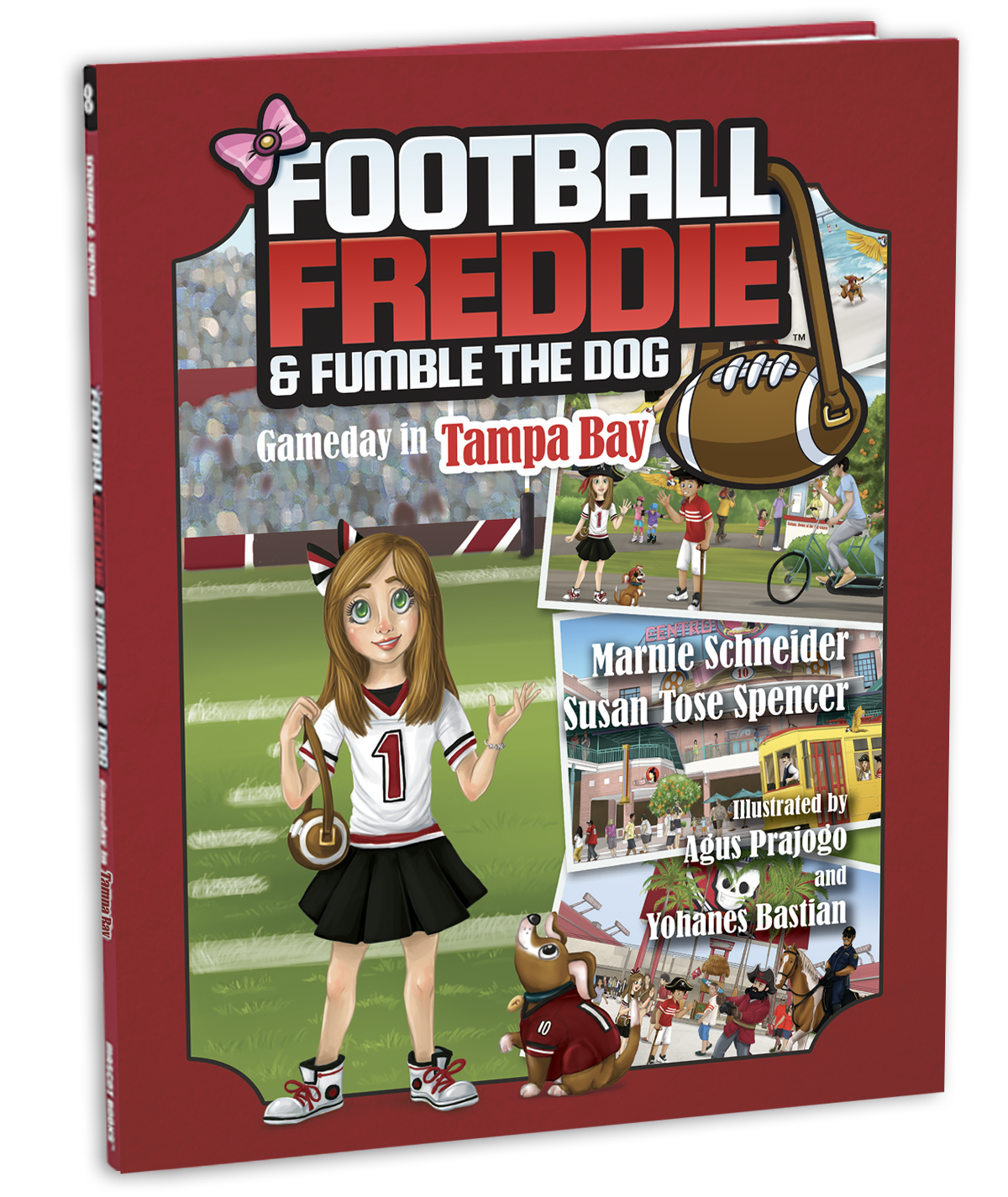 Football Freddie Tampa Bay Cover